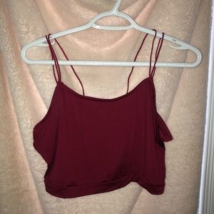 red cami/ tank